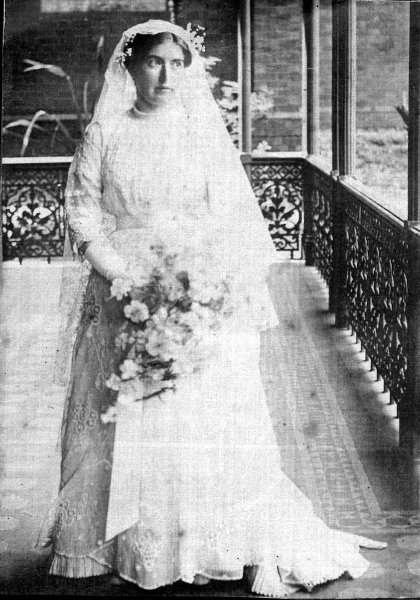May Fitzgibbon As A Bride Of Christ 1914